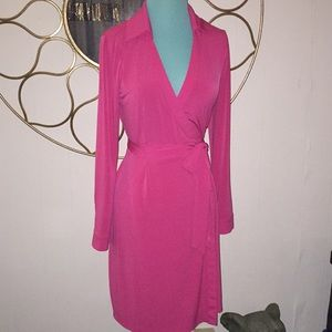 CALVIN KLEIN sz 6 wrap dress super sexy